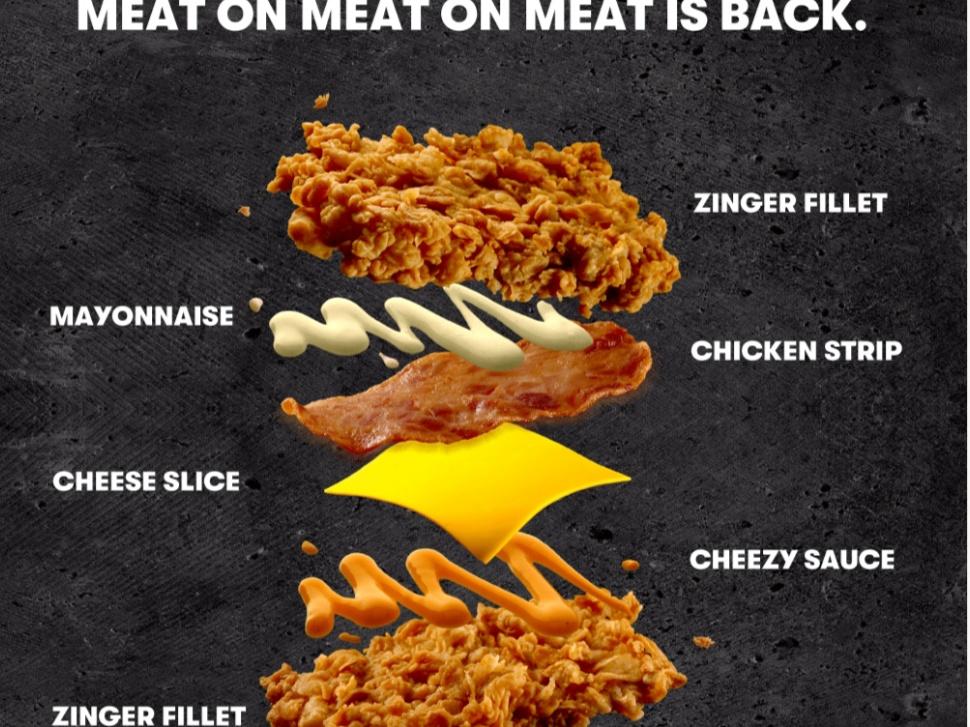 Nasi Lemak McD atau KFC Zinger Double Down?