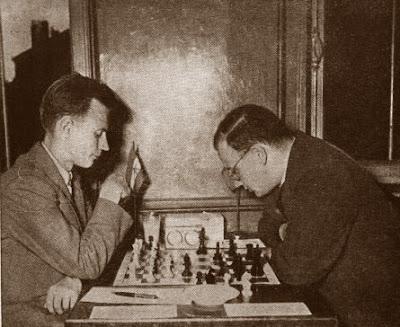 Partida de ajedrez Andrija Fuderer (Yugoslavia) - Istvan Molnar (Hungría)