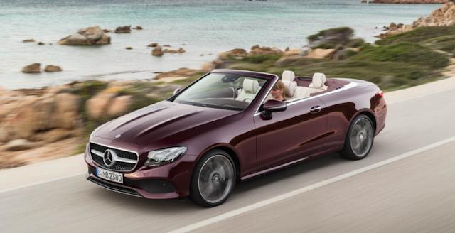 2018 Mercedes-Benz E-class Cabriolet Revealed, Gains Elegance, Space