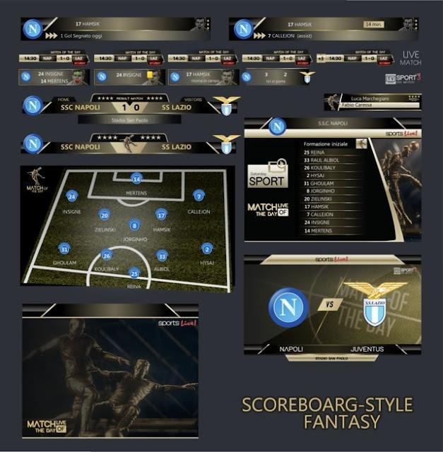 Scoreboard Fantasy 2018 PES 2017