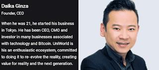 Uniworld's CEO