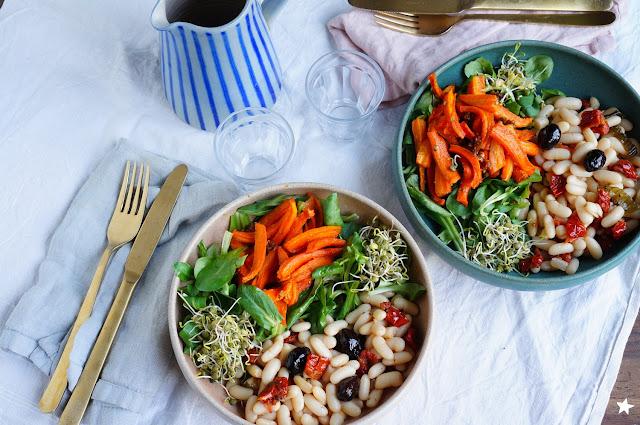 assiette vegan sans gluten