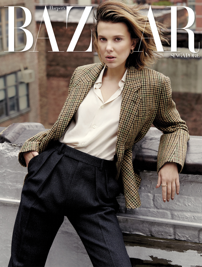 Millie Bobby Brown for Harper's Bazaar Singapore June 2019