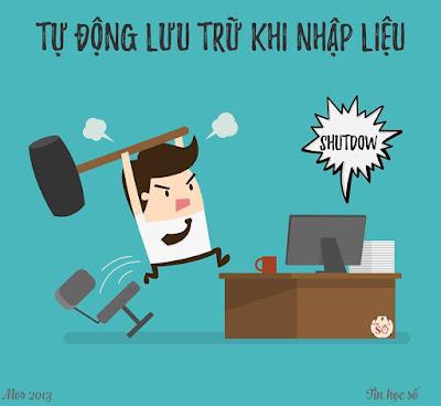 TU DONG LUU LAI DU LIEU KHI DNG SOAN THAO