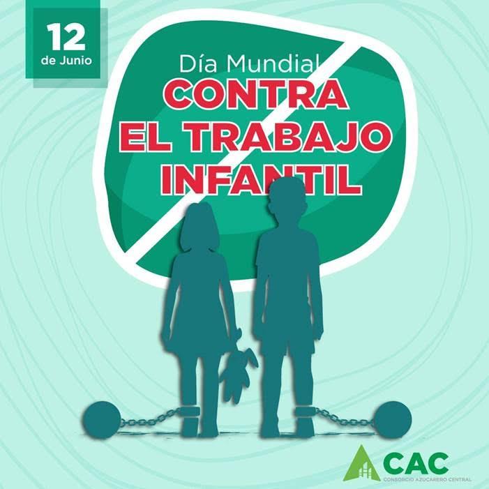CAC;  Día Mundial contra el Trabajo Infantil