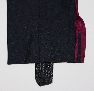 "TNG season 2 admiral uniform - trousers elastic ""stirrups"""