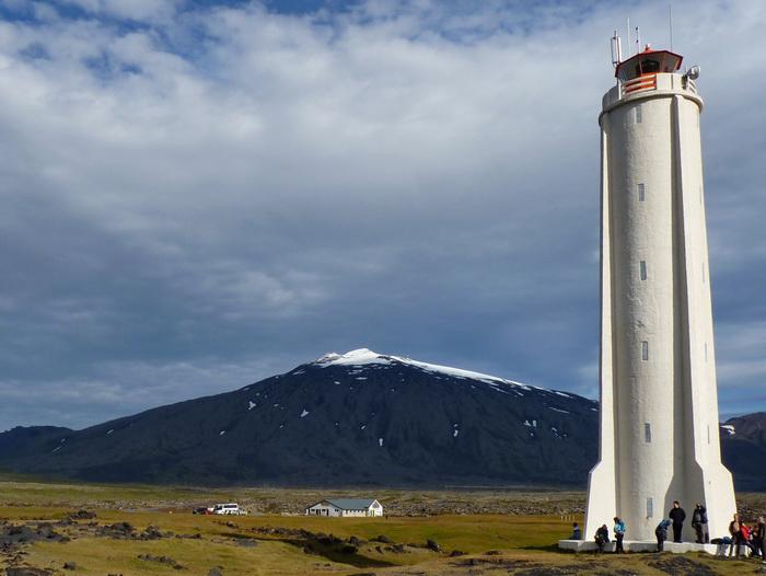 Snæfellsjökull Island Vulkan Reiseglück