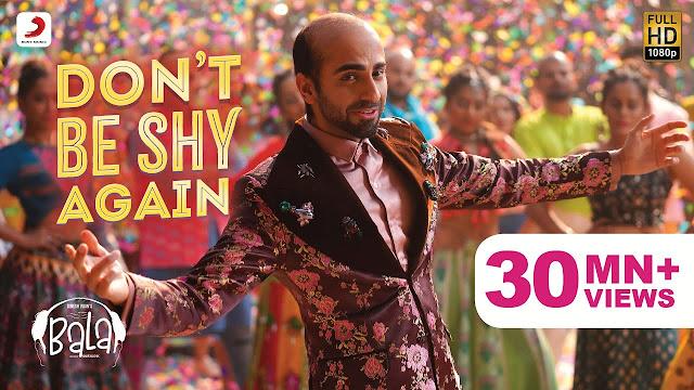 Don't Be Shy Again Lyrics In Hindi
