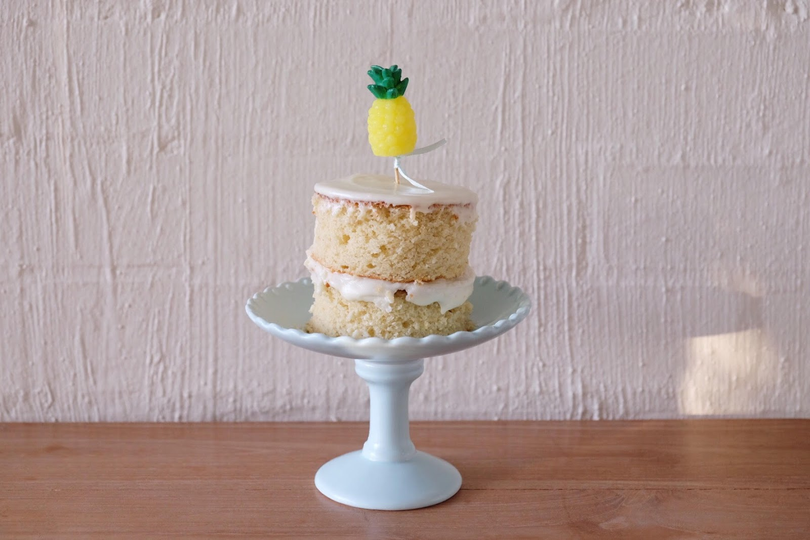 Sonnie And Share Mini Lemon Birthday Cake