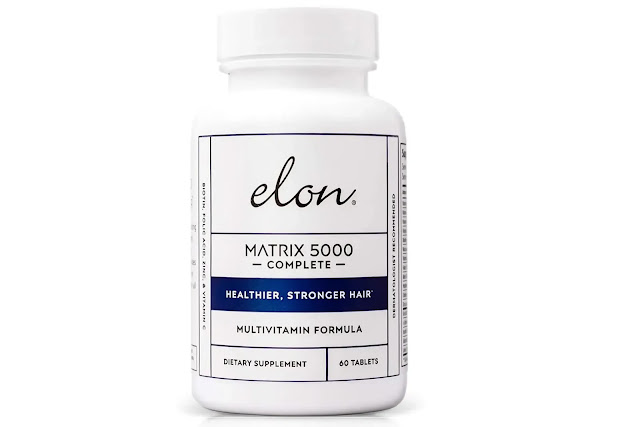 10- Elon Matrix 5000 Complete Multivitamin for Hair