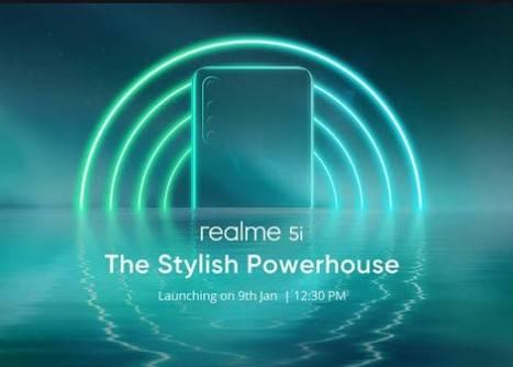 Realme 5i Siap Ramaikan Pasar Smartphone di Indonesia