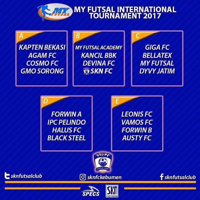 SKN FC Kebumen Berlaga di My Futsal International Tournament 2017