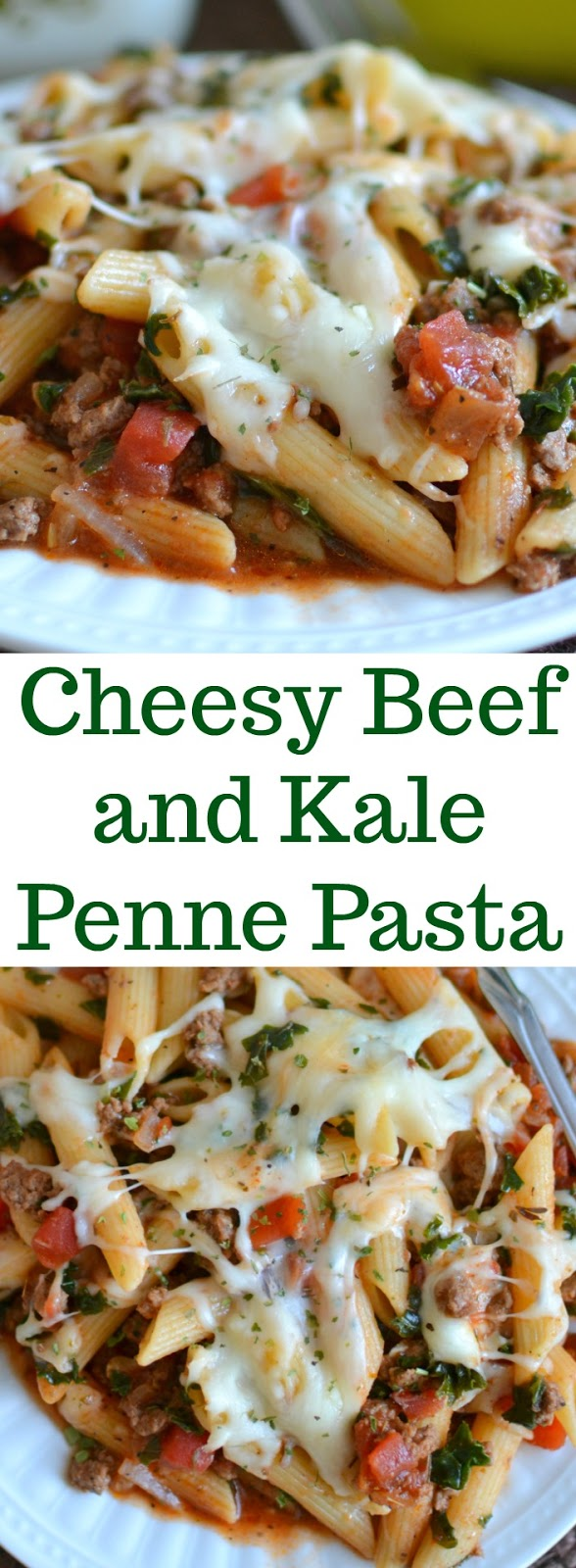 Need a new weeknight dinner? This tasty pasta is ready in less than 30 minutes and is full of cheesy, beefy goodness!