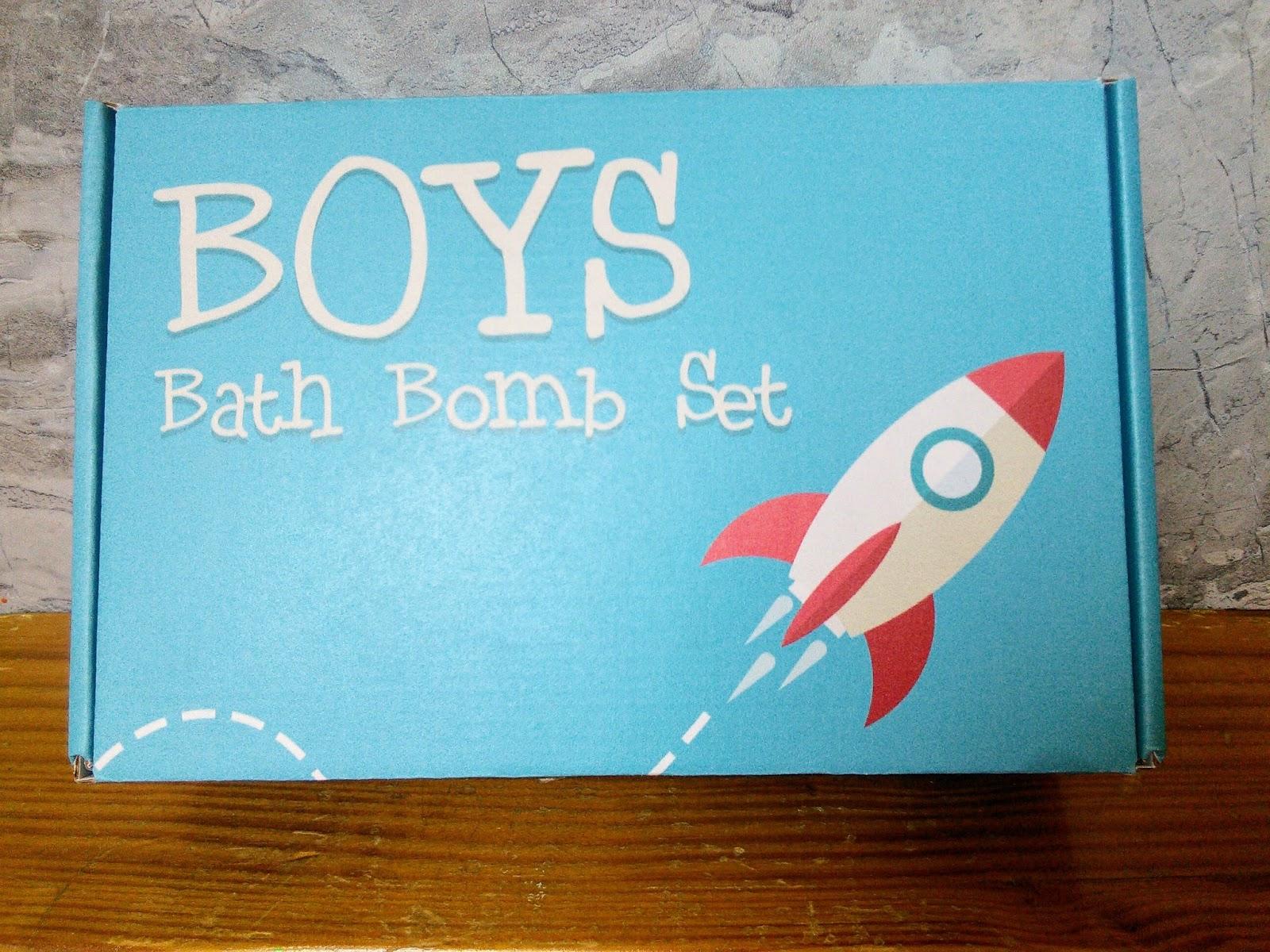 Mom Knows Best : Fun In The Tub With Boys Bath Bomb Set