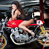 Striptease on Bike