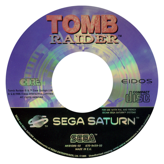 Tomb Raider 1996 CD