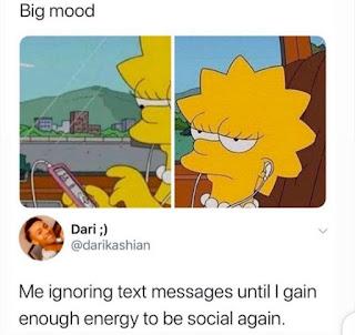 Ignoring Texts, Moods Meme
