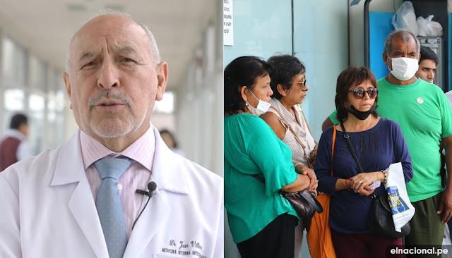 Dr. Juan Villena sobre coronavirus en el Perú