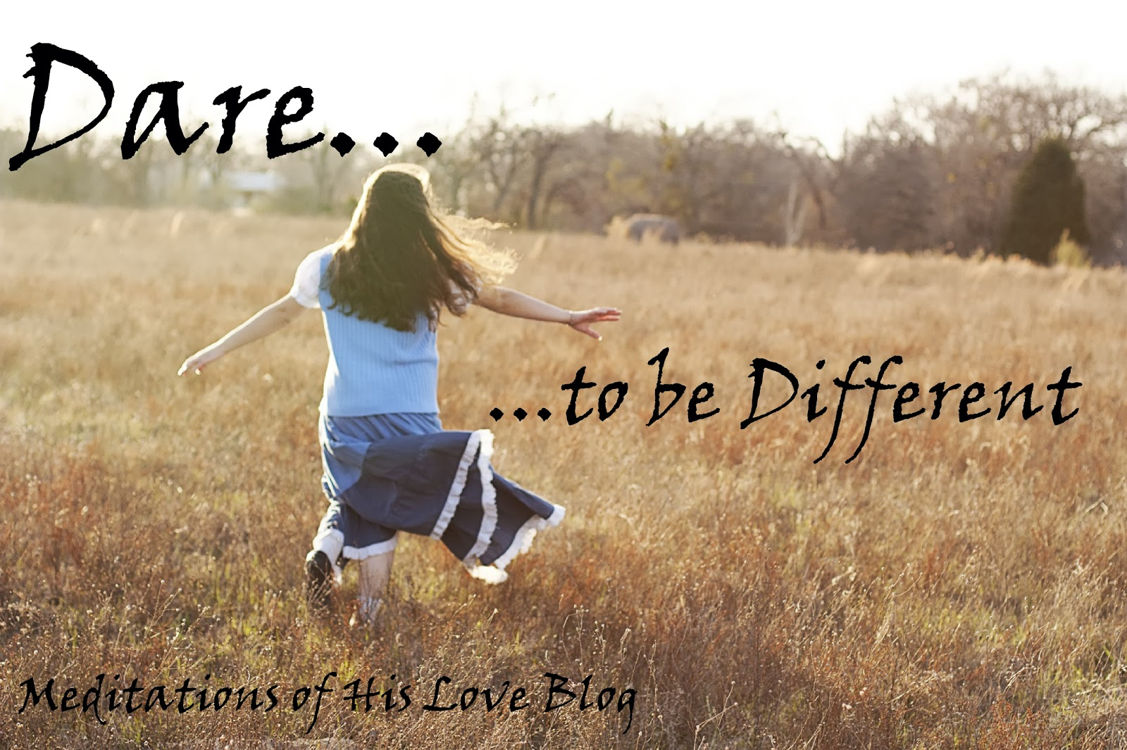 Dare To Be Different (All Age Talk)