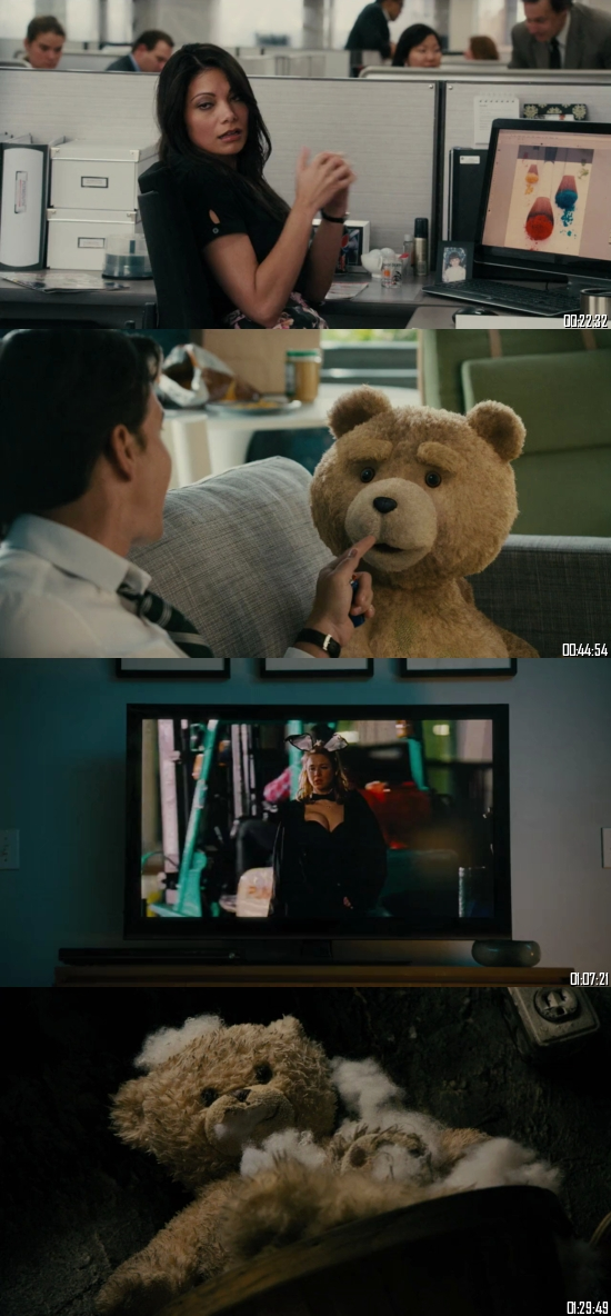 Ted 2012 BRRip 720p 480p Dual Audio Hindi English Full Movie Download