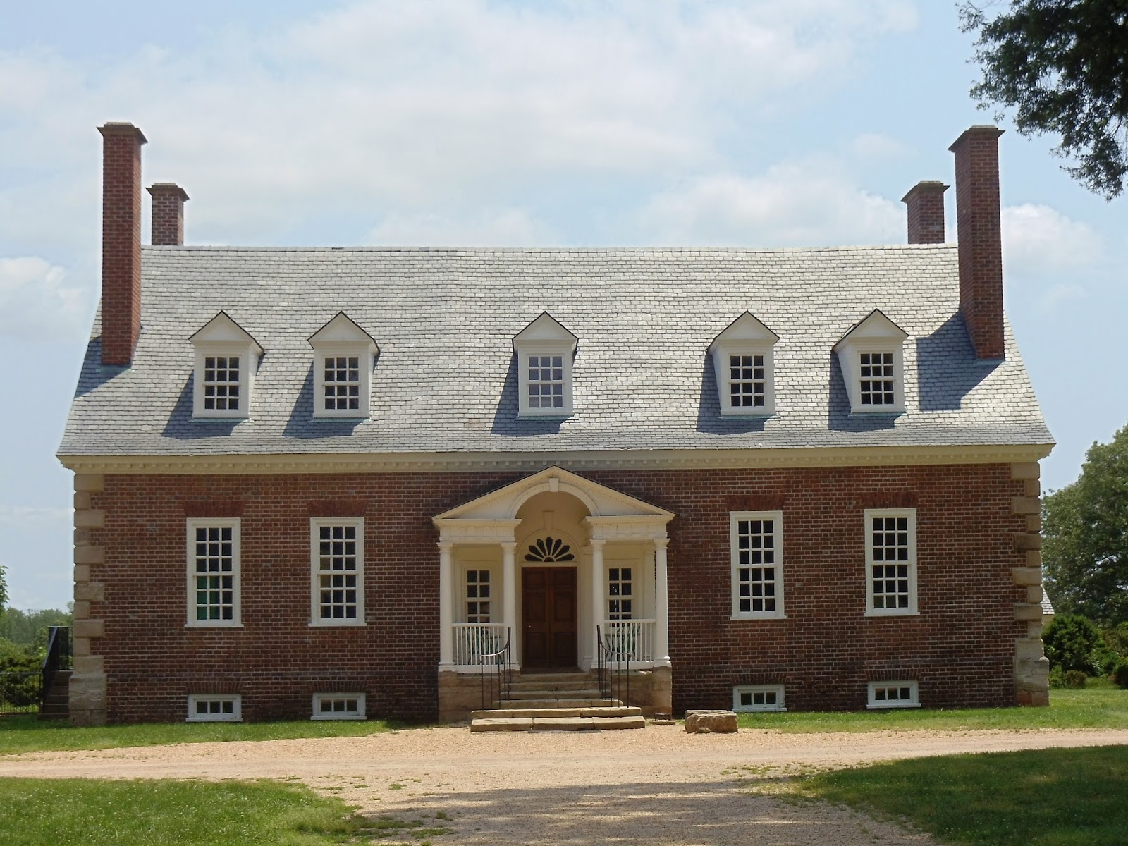 Gunston Hall's main house