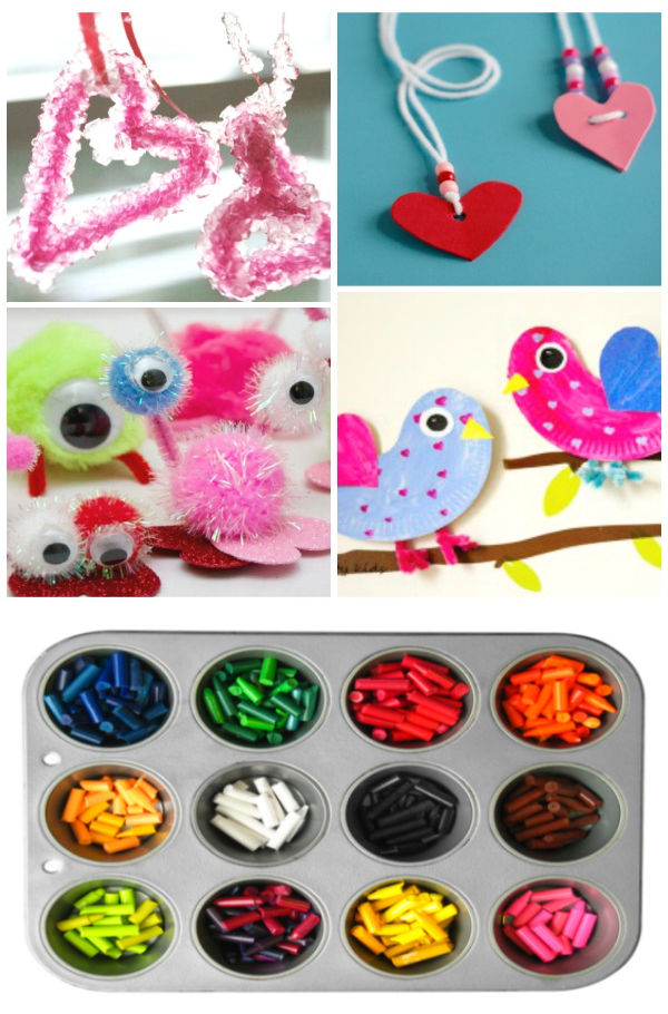 50+ VALENTINES CRAFTS FOR KIDS:  These are adorable! #valentinesday #valentinesdaycraftsforkids #craftsforvalentinesday #valentinecrafts #growingajeweledrose #activitiesforkids