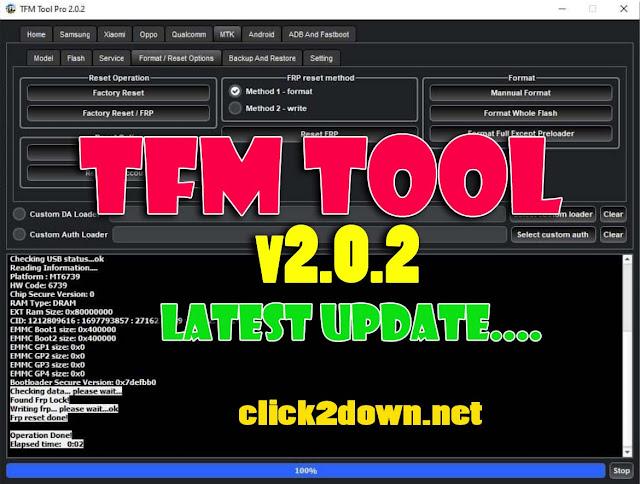 TFM Tool v2.0.2 Latest Vesrion Free Download
