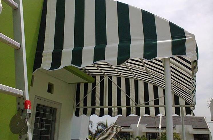 Canopy Membrane dan canopy kain