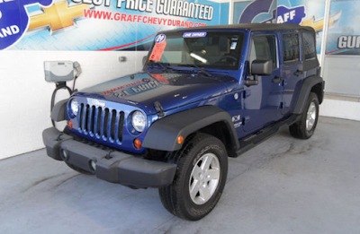 Pick of the Week - 2009 Jeep Wrangler Unlimited X