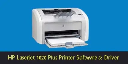 HP Laserjet 1020 Plus Printer Software Driver Download