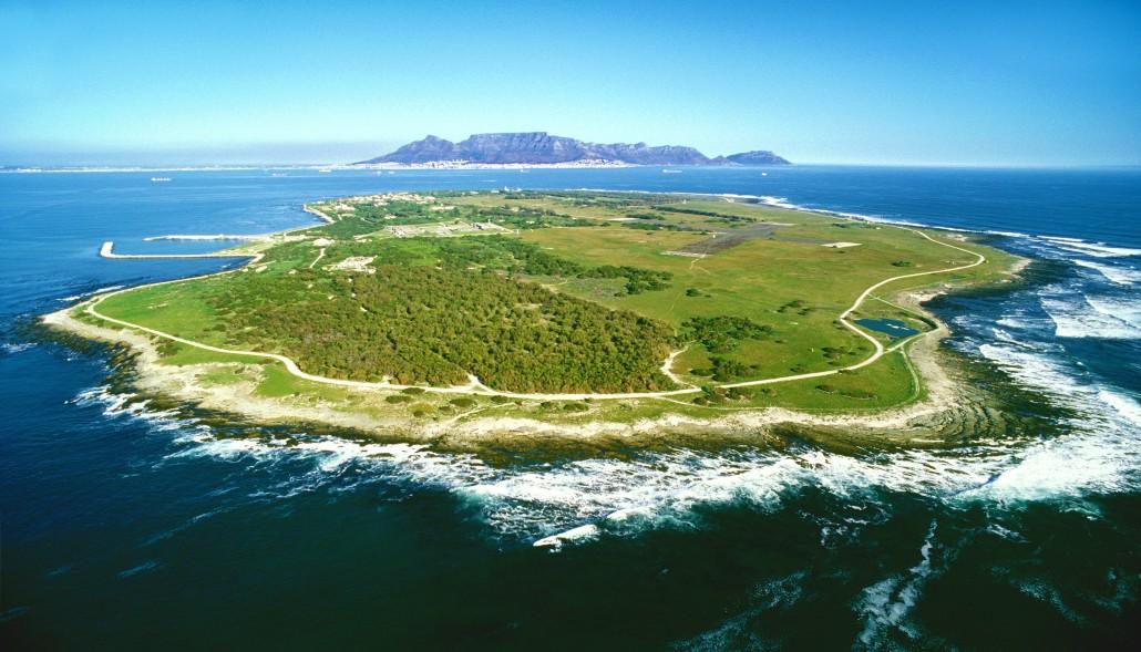Остров Роббен в Кейптауне, Южная Африка