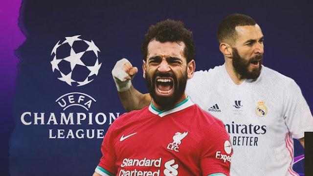 مباراة ليفربول وريال مدريد