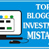 Top Blogging Investment Mistakes (made by beginners).