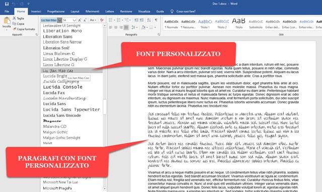 creare-documenti-font-personalizzati