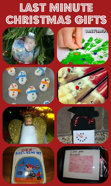 last minute homemade christmas gifts