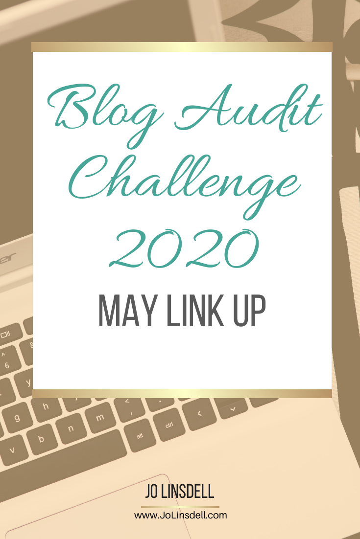 Blog Audit Challenge 2020: May Link Up #BlogAuditChallenge2020