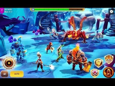 โหลดเกมส์ APK M&M: Elemental Guardians Hack โกง