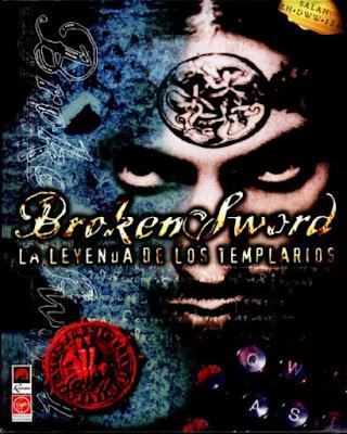 Portada videojuego Broken Sword - La leyenda de los templarios
