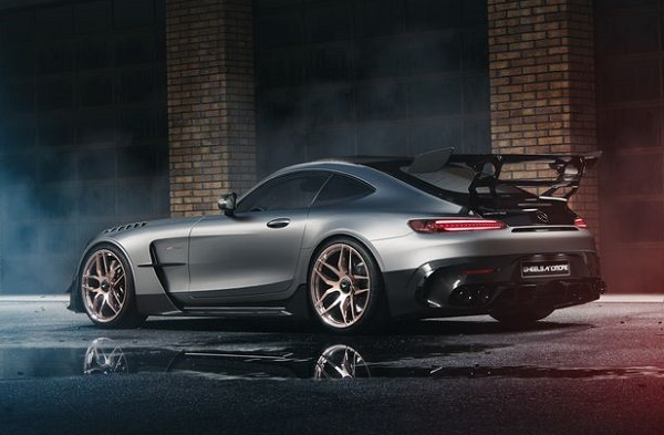 Mercedes AMG GT Black Series preparado por Wheelsandmore