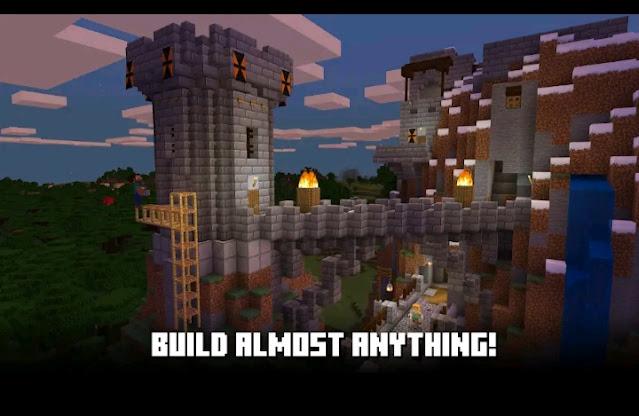 تحميل لعبة المدفوعة ماينكرافت Minecraft  مجانا للأندرويد اخر اصدار 2021