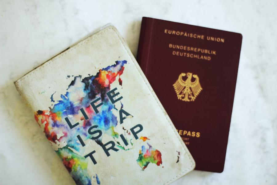 reisepass visum travelblogger