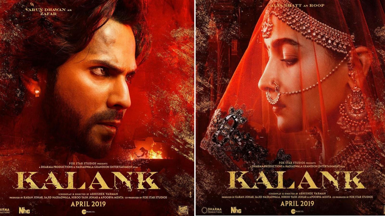 Kalank 2019 Hindi Movie Watch And Free Download Khatrimaza