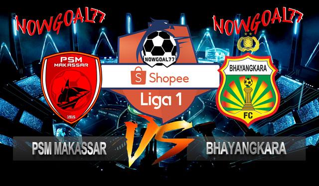 Prediksi PSM Makassar VS Bhayangkara 13 Juli 2019