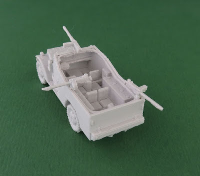 White Scout Car picture 3