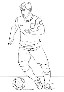 Desenhos de futebol