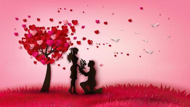 اختبار الحب