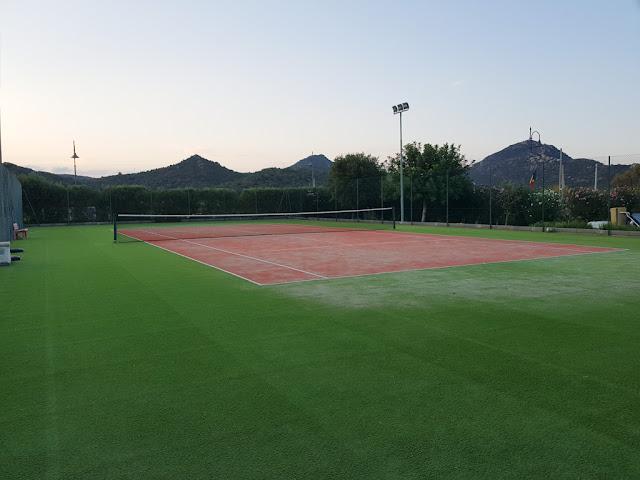 Villas resort hotel-Campo da tennis