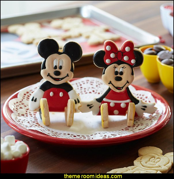 Mickey and Minnie Mouse 3D Cookie Cutter Set  mickey mouse party ideas Minnie Mouse - Mickey Mouse party decoratons Minnie Mouse - Mickey Mouse Party Supplies Minnie Mouse - Mickey Mouse birthday themed party decorations Minnie Mouse - Party Decorations Mickey Mouse Theme - Disney party - Mickey Mouse Costumes  - Mickey Minnie Birthday Banner