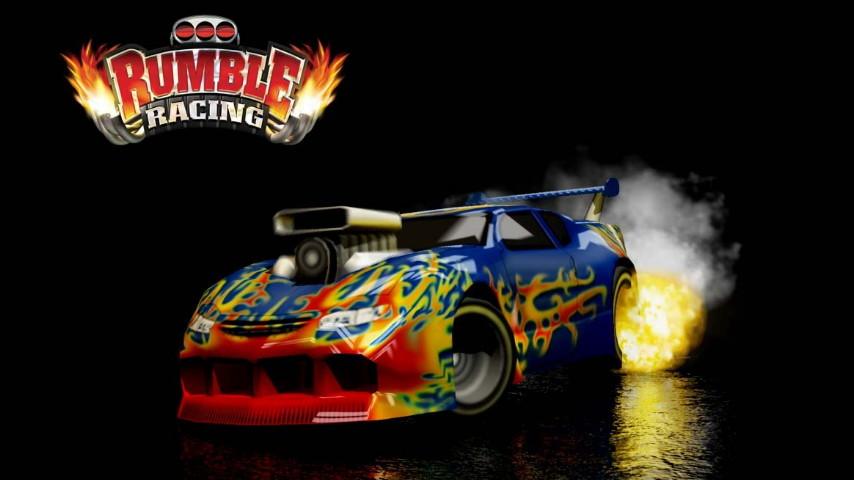 Rumble Racing merupakan salah satu game balap   mobil paling populer untuk platfrom konso Cheat Rumble Racing PS2 Lengkap, Membuka Semua Mobil