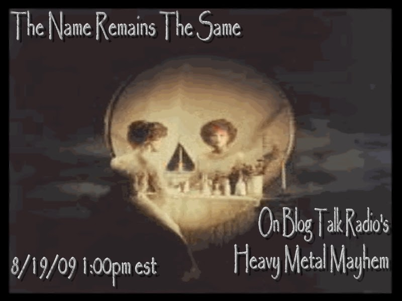 Same Name: The Heavy Metal Mayhem Radio Show: August 2009